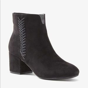 Addition Elle Faux Suede Wide Width Booties